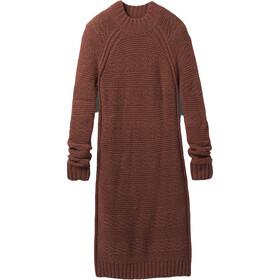 Prana Nemma Vestido Mujer, marrón